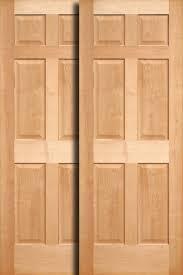 door sliding closet doors wood home design ideas