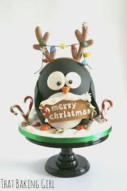 549 best christmas decorated cakes images on pinterest christmas