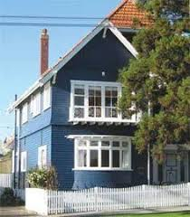 House Colours Resene Blue Bark On Weatherboards Exterior House Colours