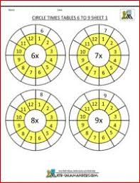 43 best times tables worksheets images on pinterest times tables