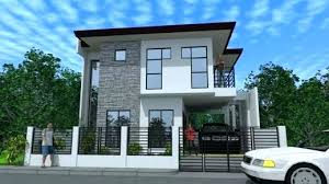 modern two house plans two storey house facade design two house plans series house