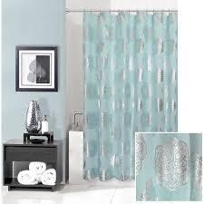 Shower Curtain At Walmart - manistays medalion metallic shower curtain walmart com