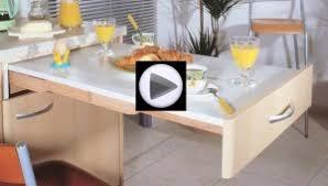 table cuisine escamotable tiroir table cuisine tiroir table gain de place u2013 55 ides de tables