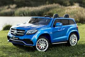 blue mercedes 24v mercedes electric ride on jeep