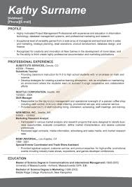 Sample Resume Information Technology Free Resume Template Word Australia
