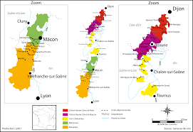Map Of Burgundy France by