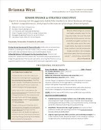 Planning Manager Resume Sample by Executive Resume Finance Page 1 Png