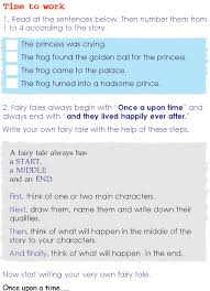 grade 2 reading lesson 12 fairy tales frog prince 4 grade 2