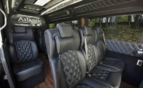 luxury mercedes van sprinter passenger van rental in atlanta atlantic limo