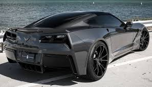 lifted corvette exclusive motoring stealth cyber gray chevrolet corvette stingray