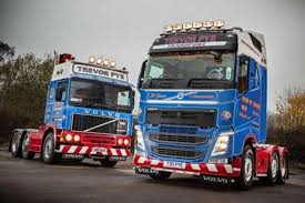 brand new volvo truck trevor pye transport celebrates 30 years in business with new