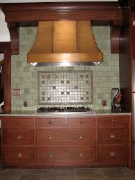 copper oven hood home appliances decoration