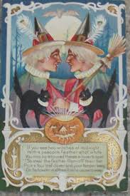 32 best a winsch halloween images on pinterest vintage postcards