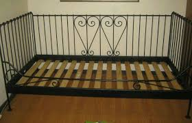 ikea black metal daybed 12333