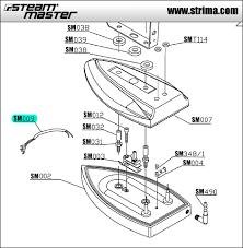 wiring for steam master sm009