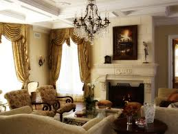 Traditional Armchairs For Living Room Luxurious Rustic Brushed Bronze Chandelier Over Traditional Sofas