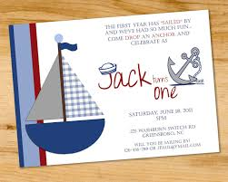 5 nautical birthday invitations for your inspiration birthday