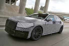lincoln sports car 2017 lincoln continental flagship spied for the first time in