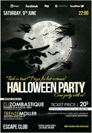 20 Halloween Flyer Templates For Halloween Party Events