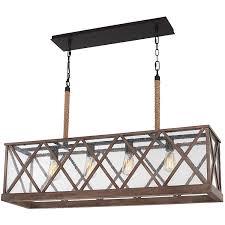 Lowes Light Fixtures Dining Room ideas large rectangular chandelier for modern lighting ideas