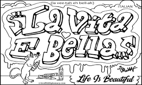italian words coloring pages italian coloring books for pages