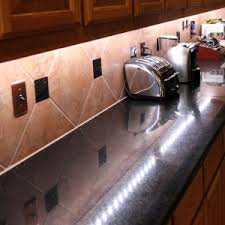 Kitchen Cabinet Lights Led Good Looking Strip Shape Led Lights Under Kitchen Cabinets With