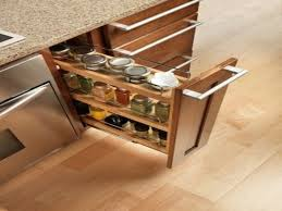 Kitchen  Kitchen Cabinet Spice Rack With Impressive Spice Rack - Kitchen cabinet spice storage