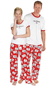 his and hers pajamas decore