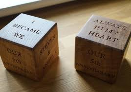 2 year anniversary gifts wedding gift for husband to be more wood