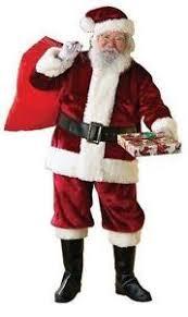 santa suit santa suit men ebay