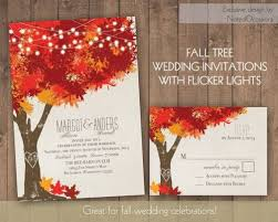 fall themed wedding invitations oxsvitation com