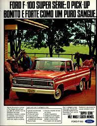 Vintage Ford Truck Ads - 1979 ford f 100 super série brasil brazilian classic cars