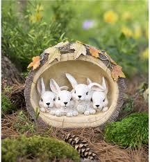 rabbit garden garden sculptures garden statues wind weather