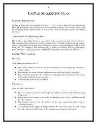my marketing plan assignment