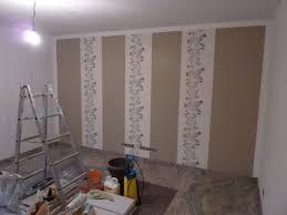 Wandgestaltung Wohnzimmer Gelb Wandgestaltung Dekorative Paneele Metall Effekte Braun Wohnzimmer