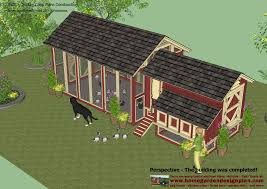 Decimal House Home Garden Plans S102 Chicken Coop Plans Construction