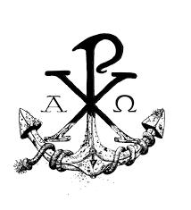 my chi rho anchor design chi rho