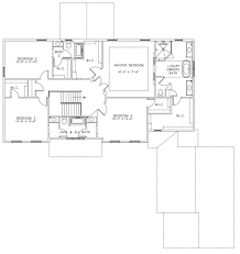 single story house plans with side garage