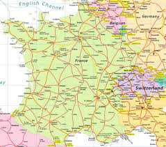 Nice France Map by Highways Map Of France And Switzerland Switzerland Europe