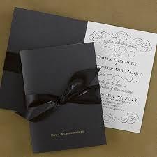 invitations for wedding 51 best black wedding invitations images on invitation
