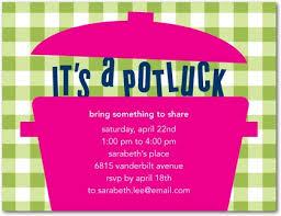 potluck invitation potluck lunch invitation potluck party invite sles