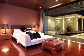 Black And White And Red Bedroom - black and red bedroom ideas platform bed with end cabinet brown