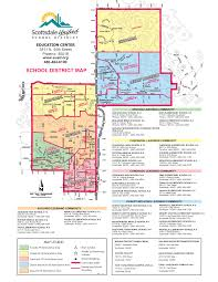 Map Of Tempe Arizona by Scottsdale Az Unified District 2017 2018 Boundary Map
