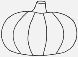 blank pumpkin coloring page free download
