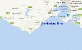 cumberland river map cumberland river surf forecast and surf reports vic cape otway