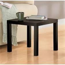 archer espresso end table with shelf moveis pinterest