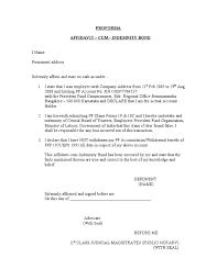 doc 638826 sample of indemnity form u2013 indemnity forms