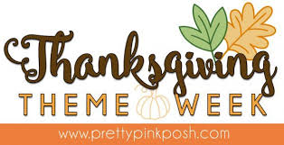 pretty pink posh thanksgiving theme week pretty pink posh