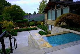 Front Of House Landscaping by Interior Entrancing Mid Century Modern Landscaping Ideas