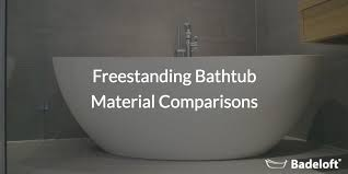 Which Is Better Cast Iron Or Acrylic Bathtubs Freestanding Bathtub Material Comparisons Badeloft Usa